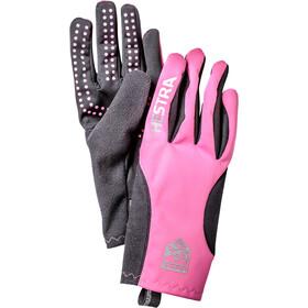 Hestra Runners All Weather 5 Finger Gloves cerise/black